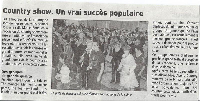 article du 18 février 2010 CountrySide